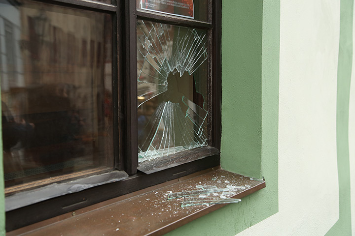 A2B Glass are able to board up broken windows while they are being repaired in Becontree.